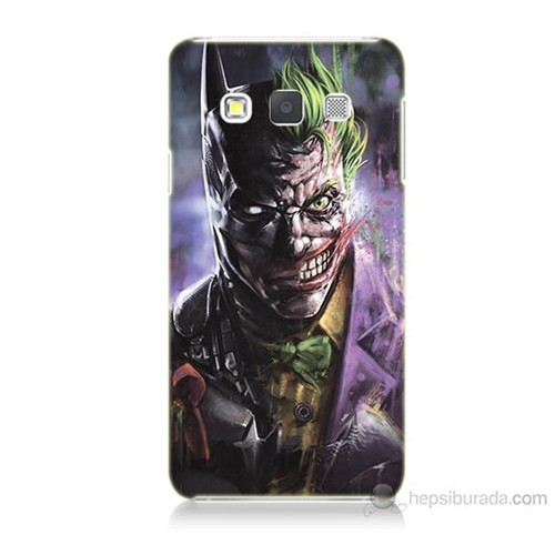 Teknomeg Samsung Galaxy A5 Kapak Kılıf Joker Vs Batman Baskılı Silikon