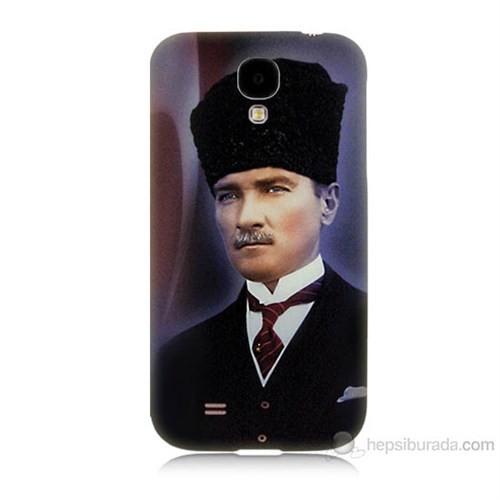Teknomeg Samsung Galaxy S4 Mustafa Kemal Atatürk Baskılı Silikon Kılıf