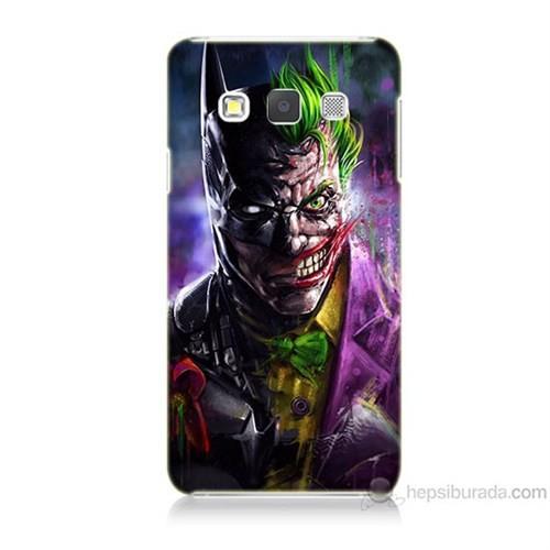 Teknomeg Samsung Galaxy A3 Batman Vs Joker Baskılı Silikon Kılıf