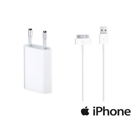 Apple 5 W Usb Güç Adaptörü + Apple 30Pinusb Kablosu-Oem