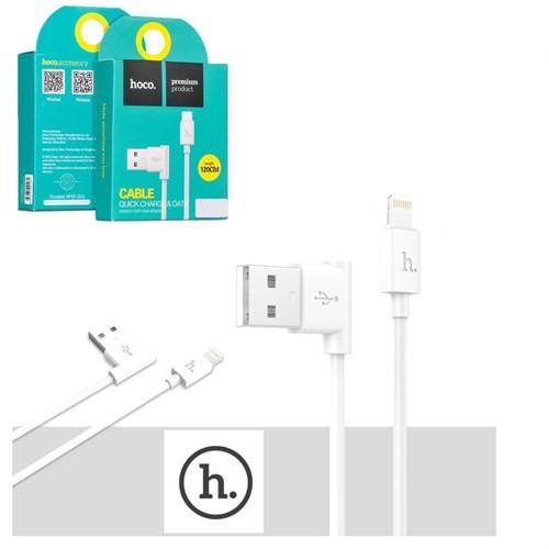 Hoco İphone 5/5S 5C 6/6S Şarj Kablosu 1.2Mt Beyaz