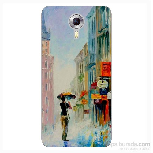 Cover&Case General Mobile 4G Android One Silikon Tasarım Telefon Kılıfı Ccs06-D03-0183