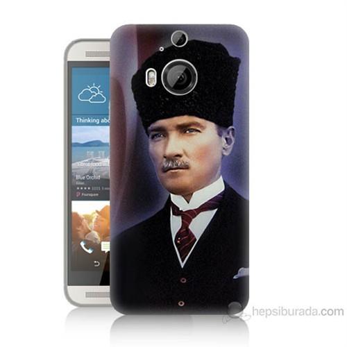 Teknomeg Htc One M9 Plus Mustafa Kemal Atatürk Baskılı Silikon Kılıf