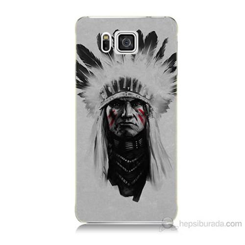 Teknomeg Samsung Galaxy Alpha G850 Geronimo Baskılı Silikon Kılıf