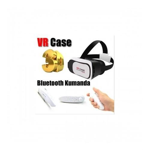 Magic Vr Case Sanal Gerçeklik 3D Gözlük En Son Versiyon + Kumandalı