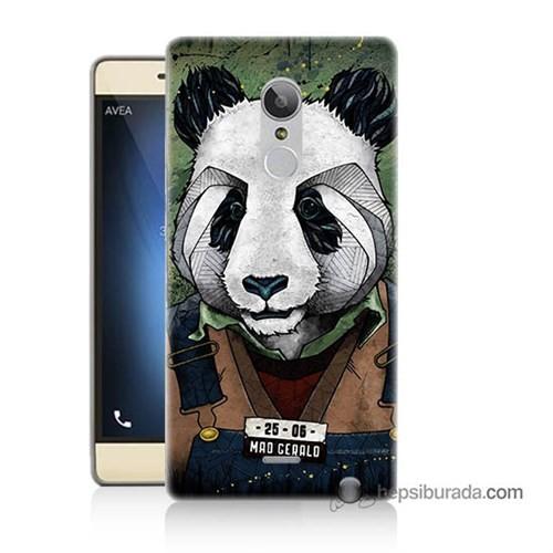 Teknomeg Türk Telekom Tt175 Kapak Kılıf İşçi Panda Baskılı Silikon