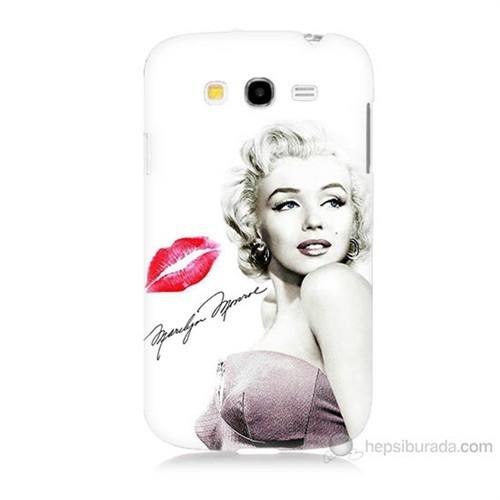 Teknomeg Samsung Galaxy Grand Duos İ9082 Marilyn Monroe Baskılı Silikon Kılıf