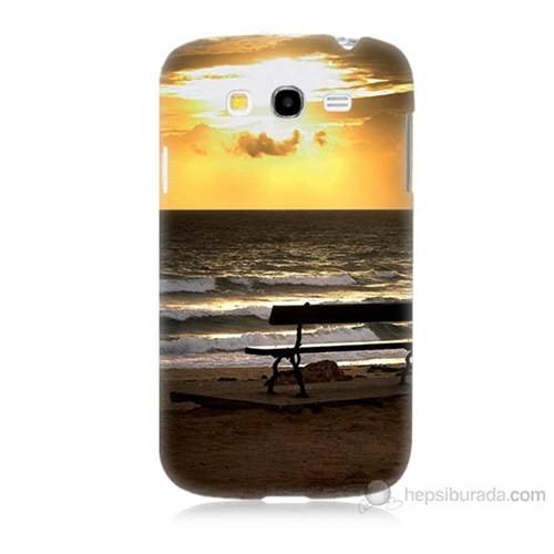 Teknomeg Samsung Galaxy Grand Duos İ9082 Gün Batımı Baskılı Silikon Kılıf