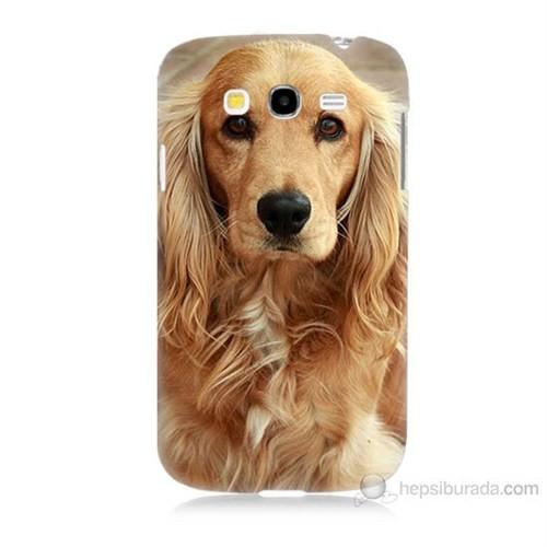 Teknomeg Samsung Galaxy Grand Duos İ9082 Köpek Baskılı Silikon Kılıf