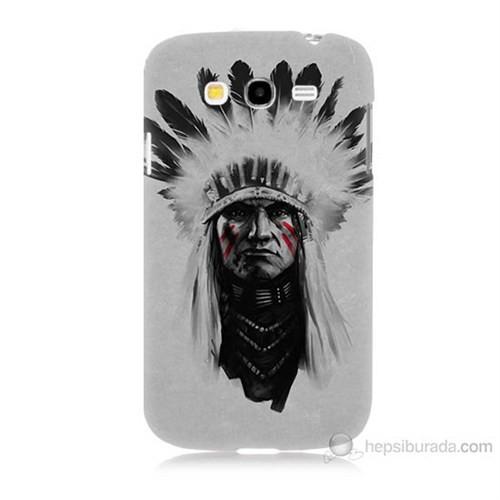 Teknomeg Samsung Galaxy Grand Duos İ9082 Geronimo Baskılı Silikon Kılıf