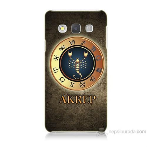 Teknomeg Samsung Galaxy A7 Akrep Burcu Baskılı Silikon Kılıf