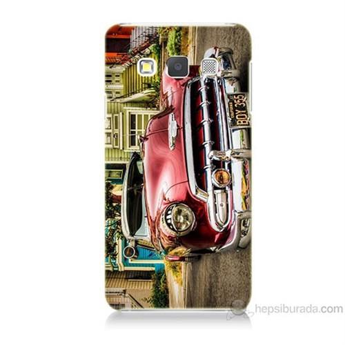 Teknomeg Samsung Galaxy A7 Klasik Araba Baskılı Silikon Kılıf