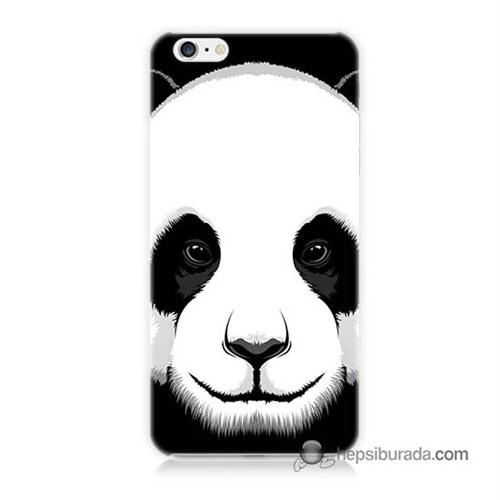 Teknomeg İphone 6 Kapak Kılıf Panda Baskılı Silikon
