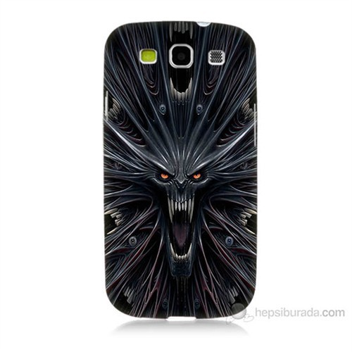Teknomeg Samsung Galaxy S3 Korku Canavarı Baskılı Silikon Kılıf