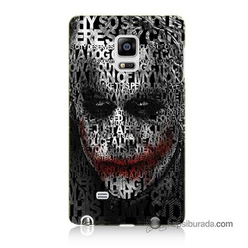 Teknomeg Samsung Galaxy Note Edge Kapak Kılıf Joker Baskılı Silikon