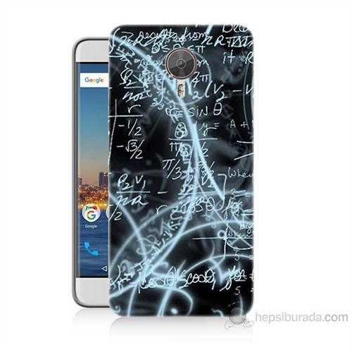 Teknomeg General Mobile Gm5 Plus Matematik Baskılı Silikon Kılıf