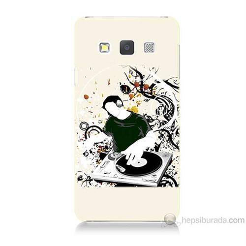 Teknomeg Samsung Galaxy A5 Disc Jokey Baskılı Silikon Kılıf