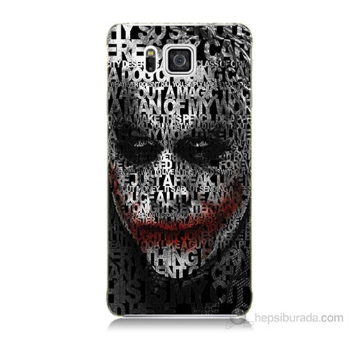 Teknomeg Samsung Galaxy Alpha G850 Joker Baskılı Silikon Kılıf
