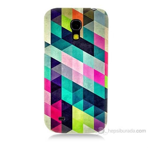 Teknomeg Samsung Galaxy S4 Mini Mozaikler Baskılı Silikon Kılıf