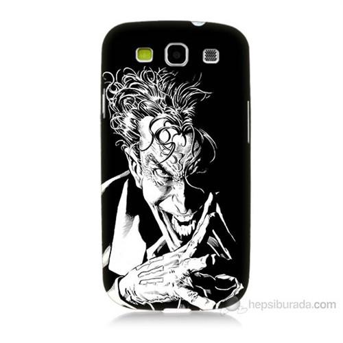 Teknomeg Samsung Galaxy S3 Gülen Joker Baskılı Silikon Kılıf