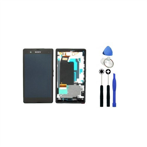 Sony Xperia Z Dokunmatik Lcd Ekran + Sökme Aparatı