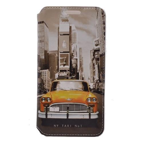 Teleplus Samsung Grand Prime Taksi Desenli Kılıf
