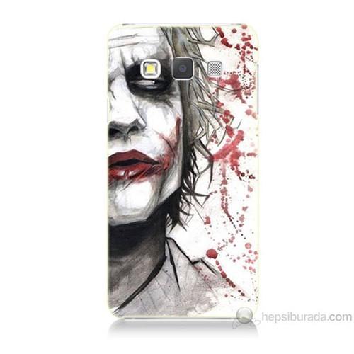 Teknomeg Samsung Galaxy A3 Kanlı Joker Baskılı Silikon Kılıf