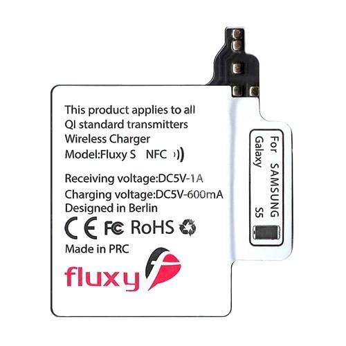 FluxPort Samsung Galaxy S5 için Kablosuz Şarj Aparatı - FP-F-015