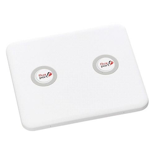FluxPort Home Double İkili Kablosuz Şarj Platformu - Beyaz