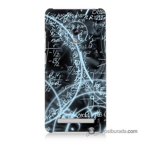 Teknomeg Asus Zenfone 6 Kapak Kılıf Matematik Baskılı Silikon