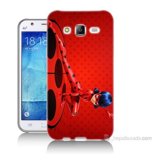 Teknomeg Samsung Galaxy J5 Kapak Kılıf Sevimli Kahraman Baskılı Silikon