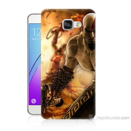 Teknomeg Samsung Galaxy A5 2016 Kapak Kılıf God Of War Baskılı Silikon