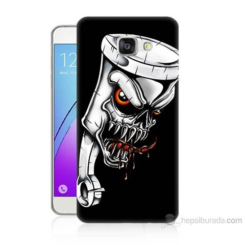 Teknomeg Samsung Galaxy A5 2016 Kapak Kılıf Piston Baskılı Silikon