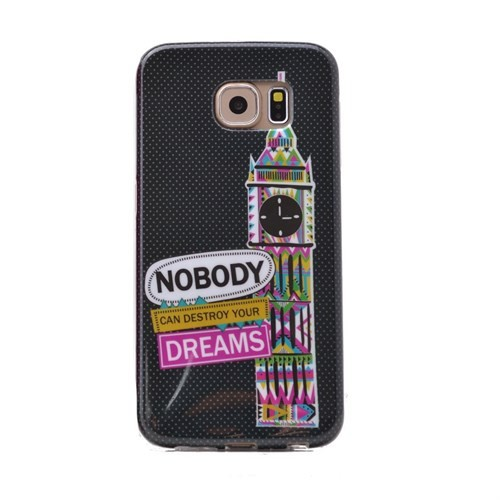Teleplus Samsung Galaxy S6 Desenli Silikon Kılıf Dreams