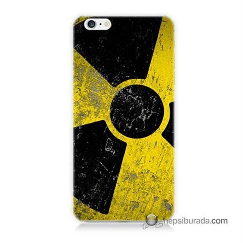 Teknomeg İphone 6S Kapak Kılıf Radyasyon Baskılı Silikon
