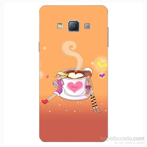 Cover&Case Samsung Galaxy A7 Silikon Tasarım Telefon Kılıfı Ccs02-A03-0083