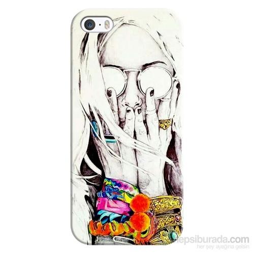 Cover&Case Apple İphone 5 / 5S / Se Silikon Tasarım Telefon Kılıfı Ccs01-Ip02-0215