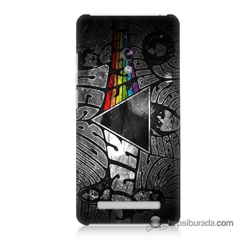 Teknomeg Asus Zenfone 6 Kapak Kılıf Pink Floyd Baskılı Silikon