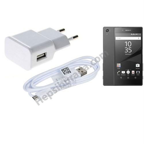 Fonemax Sony Xperia Z5 Compact Şarj Seti