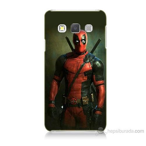 Teknomeg Samsung Galaxy A3 Kapak Kılıf Deadpool Baskılı Silikon