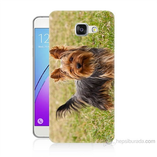 Teknomeg Samsung Galaxy A5 2016 Kapak Kılıf Terier Baskılı Silikon