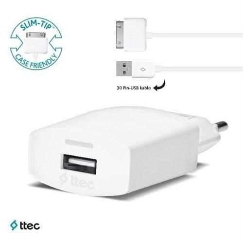 Ttec Compact Seyahat Şarj Cihazı İphone 4 1000Ma – 2Scc751