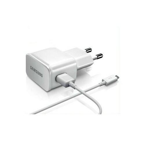 Samsung U90EWE Micro USB Seyahat Şarjı Cihazı Beyaz (İthalatçı Garantili)