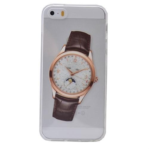 Teleplus İphone 6 Plus Saat Desenli Silikon Kılıf 9