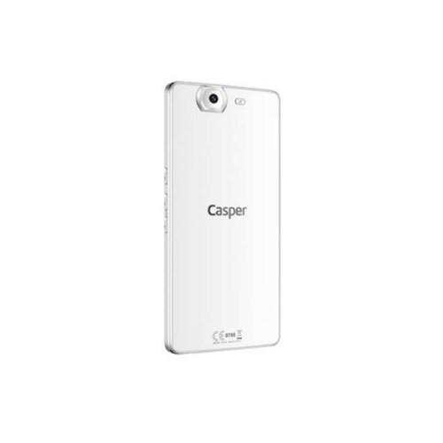 Teleplus Casper Via V8 Arka Batarya Kapak Beyaz