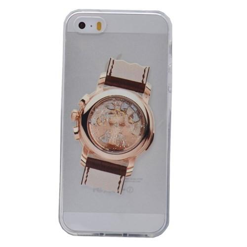 Teleplus İphone 6 Saat Desenli Silikon Kılıf 3