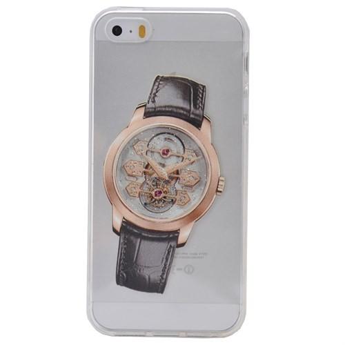 Teleplus İphone 6 Saat Desenli Silikon Kılıf 10