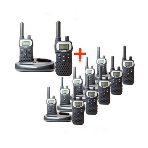 El Telsizi Laxon Lr8 8Km Mesafeli 2 Merkez 10 Şube