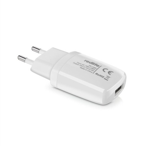 Redlife Micro USB Tek Girişli 1A Duvar Şarjı Beyaz - AGDS01072