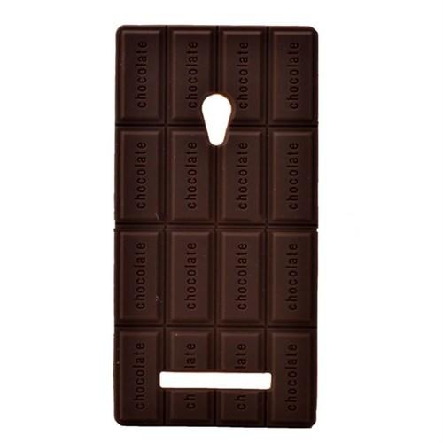 Teleplus Asus Zenfone 5 Çikolata Desenli Silikon Kılıf